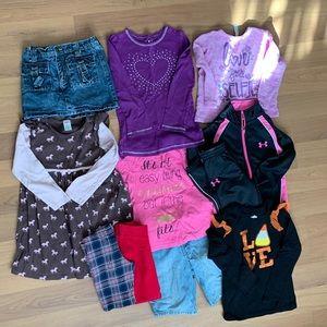 11 piece Girl's Size 6 Clothes Bundle